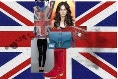"""British Flag set"" by katierose-1 on Polyvore"