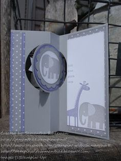 Stampin' with Samantha E. Stampin' Up! Independent Demonstrator: Circle Card Thinlits