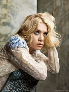 ashley olsen, marie claire photoshoot