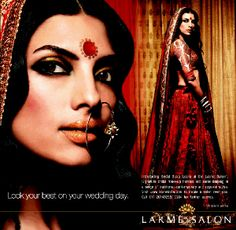 BRIDAL COUTURE: Bridal Sutra Adverts by Lakme