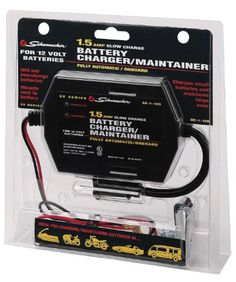 Battery ChargerMaintainer -- Click affiliate link Amazon.com on image for more details.