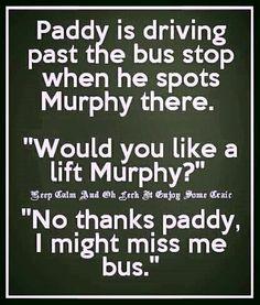 Funny Irish Jokes, Corny Jokes, Best Funny Jokes, Good Jokes, You Funny, Funny Signs, Funny Stuff, Fun Jokes, Funny Pictures With Captions