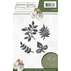 Die - Precious Marieke - Fantastic Flowers - Leaves