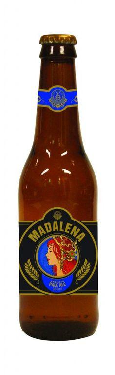 Cerveja Madalena American Pale Ale, estilo American Pale Ale, produzida por Cervejaria Premium Paulista, Brasil. 5.5% ABV de álcool.