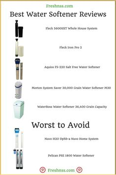 Best Water Softener 2020.8 Best Water Softener Tips Images Water Hard Water Water