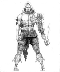 """K•1"" you want him on your side - Pencil - Jonathan Cazares - www.l3dezign.com - ©2012"