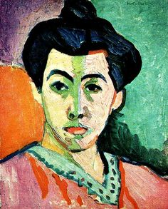 Matisse 1905 Green Stripe Madame Matisse