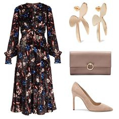 Velvet touch in Autumn with Erdem(first day in Sweden) Modest Outfits, Classy Outfits, Chic Outfits, Dress Outfits, Fashion Outfits, Hijab Outfit, Dress Shoes, Curvy Fashion, Modest Fashion