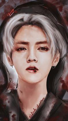 鹿晗 Luhan fan-art