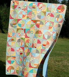 Great quilt- colors