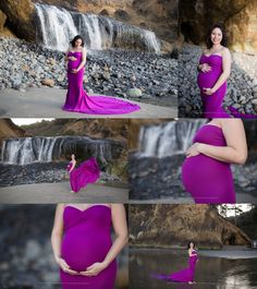 Oregon Coast Maternity Session, Cannon Beach Photographer, Portland Maternity Photographer, Beach Maternity Session, Maternity Gown, Sew Trendy Accessories, Shannon Hager Photography