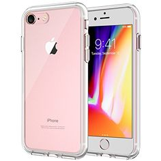 JETech Apple iPhone 7 Case, iPhone 8 Compatible, Shock-Absorption Bumper Cover Anti-Scratch Clear Back (HD Clear): The case covers the back and corners of your phone.Made for perfect fit.Protect your Phone with this creatively designed case! Apple Iphone 6, Best Iphone, Iphone Se, Iphone 8 Plus, Iphone Cases Disney, Iphone 8 Cases, Iphone Deals, Iphone Hacks, Diy Phone Case