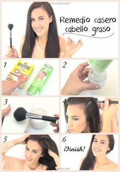 Si tu problema es el cabello grasoso, he aquí cómo solucionarlo. | 21 Guías visuales que harán que tu cabello se vea sensacional todos los días