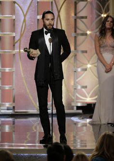 "Jared Leto  ""Best Supporting Actor"" Award .- 71st Annual Golden Globe Awards, LA.- 12-01-2014"