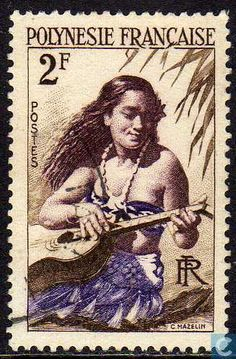 French Polynesia - Guitar Player 1958