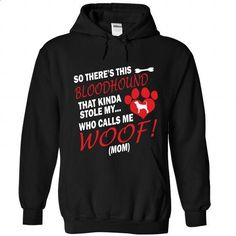 This Bloodhound Stole My Heart! - #cool shirt #tshirt with sayings. SIMILAR ITEMS => https://www.sunfrog.com/Pets/This-Bloodhound-Stole-My-Heart-1990-Black-Hoodie.html?68278