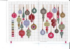 Gallery.ru / Фото #21 - Noel magique - Mongia Christmas Ornament cross stitch