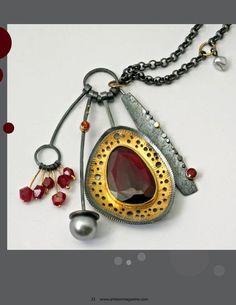 Wonderful article about jewelry designer, Sydney Lynch
