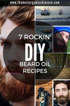 7 Rockin' DIY Beard Oil Recipes   The Best Organic Skin Care