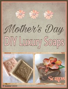 These beautiful luxury soaps look and smell great. They make excellent gifts for Mother's Day, birthdays or any special occasion, really. I love making them and choosing the scents and colors. I like to add herbs and spices for a special touch. What You'll Need: Brick of Soap from the craft Store. Eventually I'd like to make my own soap from scratch but since I'm just starting out I've been using the premade bricks of soap. Soap molds....