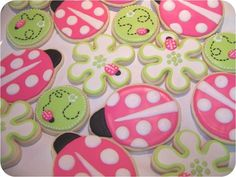These cookies are super cute !! I love lady bugs :)