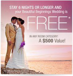 looking at destination weddings