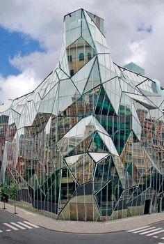 25 великолепных архитектурных фасадов Отдел здоровья Басков HQ Coll Barreu ARQ