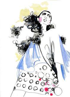 illustration de mode Limited edition print