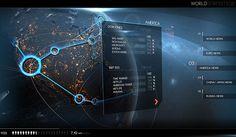 WORLD STATISTICS by 2RISE® GmbH, via Behance