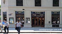 Café Los Galgos Buenos Aires Março 2016