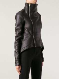 Rick Owens 'naska' Sheerling Jacket - Julian Fashion - Farfetch.com