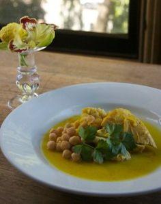 Chicken Tagine with Cauliflower