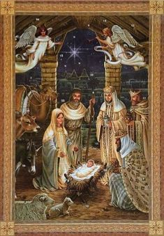 Gem Crafts, Nativity, Catholic, Rose, Painting, Art, Sagrada Familia, Art Background, Pink