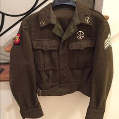 US Navy vintage green army jacket Around a size medium/large. Vintage army/navy jacket Jackets & Coats
