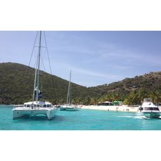 BVI - one week on a catamaran for our 20th anniversary