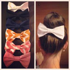 DIY Fabric Hair Bows!