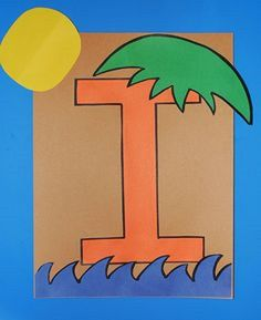 This page is a lot of letter i crafts for kids. There are letter i craft ideas and projects for kids. If you want teach the alphabet easy and fun . Letter I Crafts, Preschool Letter Crafts, Preschool Art Projects, Preschool Writing, Alphabet Crafts, Kindergarten Crafts, Alphabet Art, Kids Crafts, School Projects