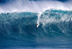 Shane Dorian on 57 foot wave at Jaws, 3.15.11