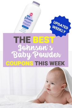 Johnson's Baby Powder Printable Coupon - Printable Coupons and Deals Weekly Coupons, Baby Coupons, Grocery Coupons, Print Coupons, Printable Coupons, Printables, Walmart Deals, Baby Powder, Happy Baby