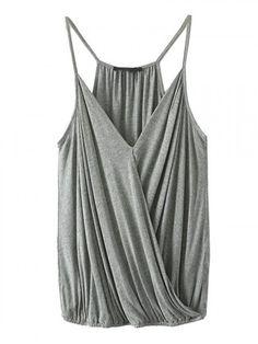 gray cami top | choies