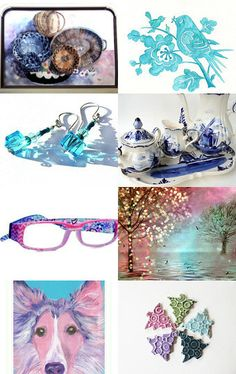 MAGICAL SPRING   by Janet Long on Etsy--Pinned with TreasuryPin.com