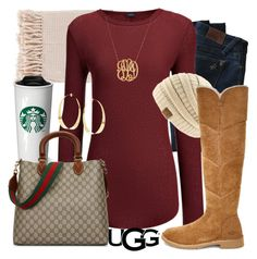 """""""The New Classics With UGG: Contest Entry"""" by annabelle2222 on Polyvore featuring Surya, DL1961 Premium Denim, Joseph, UGG, Lana, Jennifer Zeuner, Gucci and ugg"""