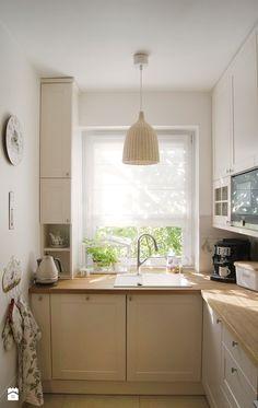 Metamorfoza kuchni/ ZAZAstudio - zdjęcie od ZAZA studio - Kuchnia - Styl Prowansalski - ZAZA studio Moduler Kitchen, Galley Kitchen Design, Kitchen Family Rooms, Kitchen Interior, Kitchen Decor, Kitchen Modern, Kitchen Ideas, Kitchen Colour Schemes, Kitchen Colors