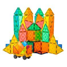 Tytan™ 60-Pc Magnetic Tiles & Building Blocks Set - STEM Certified - Provides Hours of Creative Fun!