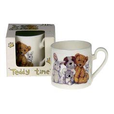 Teddy Time Krus i Gavekarton 0,15 ltr. #krus #porcelæn #bamser #børn #spb #smagpåbordet