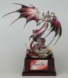 Bronze – Warhammer Age of Sigmar Large Model – Warhammer Fest 2018 Warhammer Armies, Warhammer Aos, Warhammer Fantasy, Warhammer Figures, Warhammer Models, Age Of Sigmar Armies, Greek Mythological Creatures, Miniature Bases, Dragon Coloring Page
