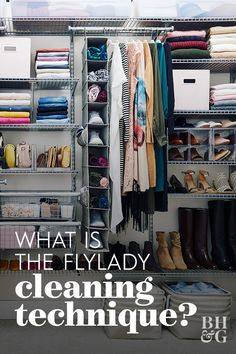 The FlyLady system breaks down household cleaning and organizing projects into focused increments. Learn all about the FlyLady cleaning method here. Fly Lady Cleaning, Daily Cleaning, Cleaning Hacks, Living Room Zones, The Flylady, Organizing, Organising Ideas, Organization Ideas, Household Chores