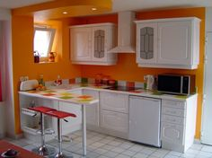At some point in time, I will posses an orange kitchen