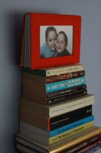 How to make a recycled book photo frame