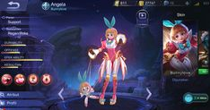 Angela Mobile Legends: Hero Support The Adorable Mechanical Angel